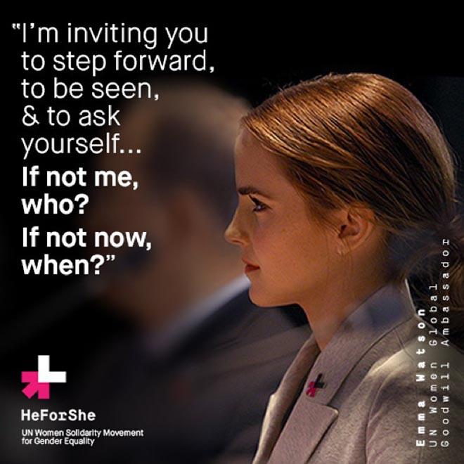 Emma Watson UN gender equality speech resonates with San Ramon students