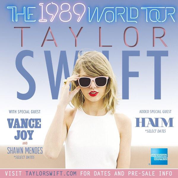 Swift still going strong with 1989 Tour