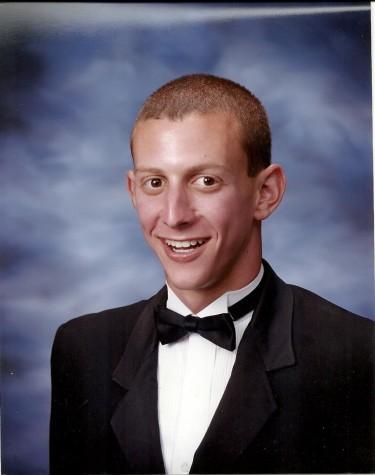 Lucash as a high school senior